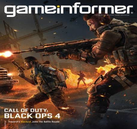 October Cover Revealed - Call of Duty: Black Ops 4