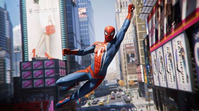 Watch 7 Minutes Of Web-Swinging Gameplay From Spider-Man