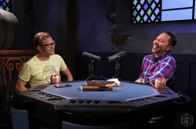 Exclusive Interview With Critical Role Stars Liam O'Brien And Sam Riegel On Returning To The Podcast Where It All Began