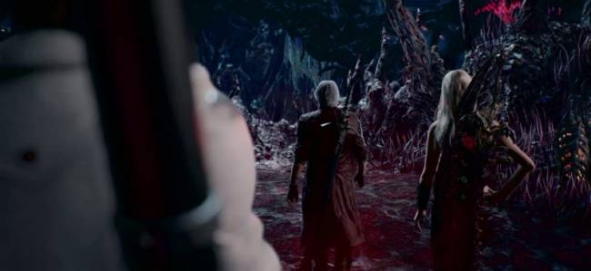 New Devil May Cry 5 Trailer Shows Dante, Lady, Trish, And Mega Man's Buster
