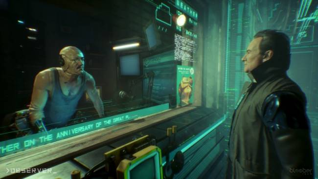 Cyberpunk Indie Horror Game Observer Coming To Switch