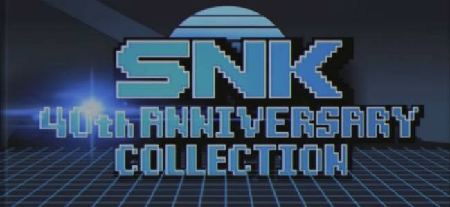 SNK 40th Anniversary Collection Getting 10 More Games Post-Launch