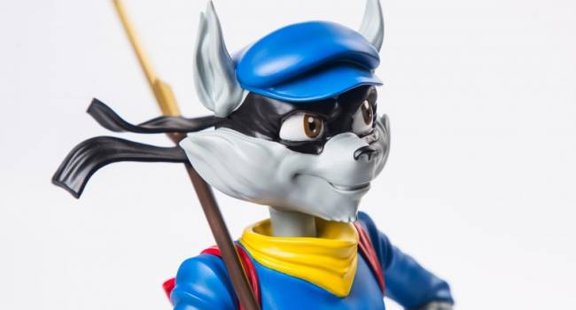 Sly Cooper Statue On The Way From Gaming Heads
