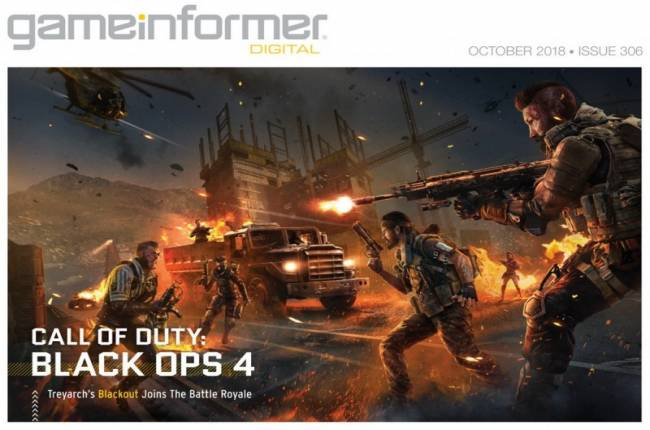 The Call Of Duty: Black Ops 4 Digital Issue Is Now Live