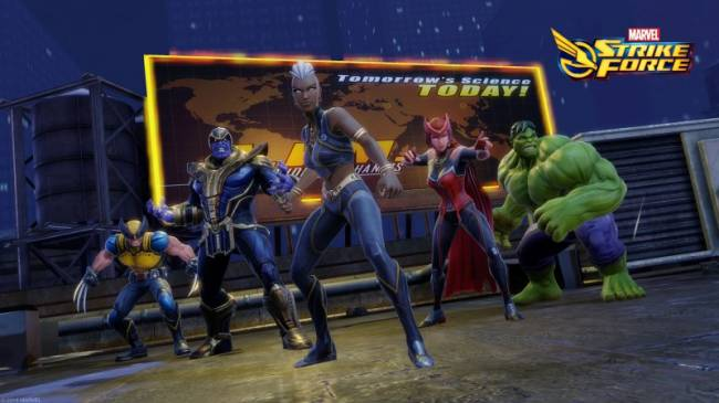 Marvel Strike Force Adds Storm To Roster Of Playable Characters