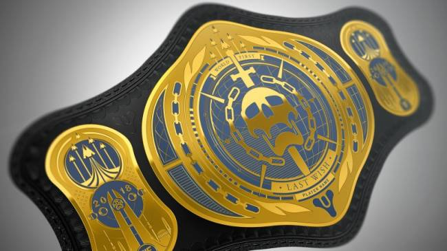 The First Team To Complete Destiny 2's Next Raid Gets A Championship Wrestling Belt