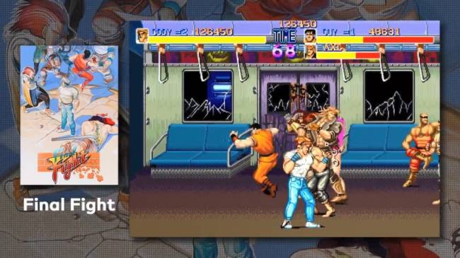 Capcom Beat 'Em Up Bundle Announced For Switch With Online Play