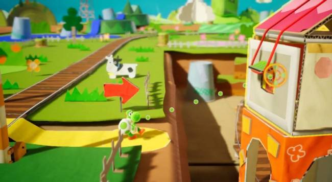 Yoshi's Crafted World Coming To Switch In Spring