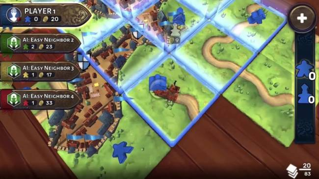 Play Carcassonne, Pandemic, And Other Board Games On Switch