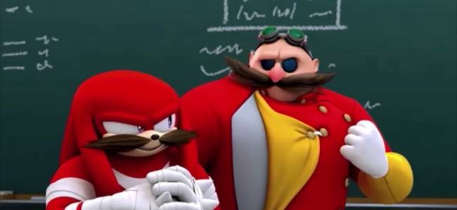 First Images Of Jim Carrey As Dr. Eggman In Sonic The Hedgehog Movie