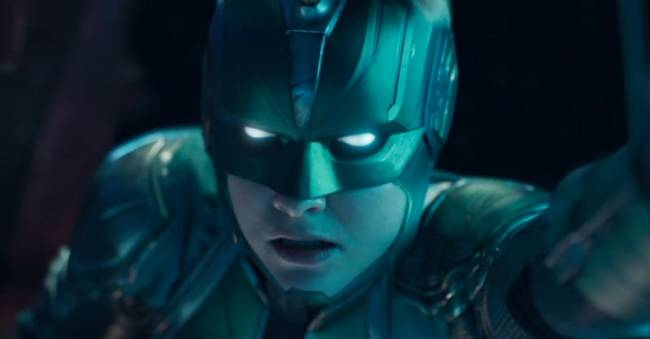 Captain Marvel Takes To The Skies In First Trailer