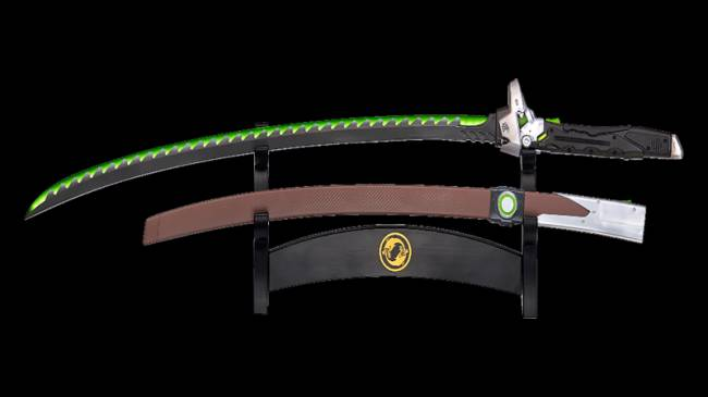 Become The Dragon With Blizzard's New Ultimate Genji Sword