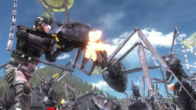 Shoot Giant Bugs And Even Bigger Frogs In Earth Defense Force 5 This December