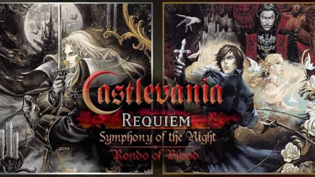 Castlevania Requiem Bundle Brings Symphony Of The Night & Rondo Of Blood To The PS4