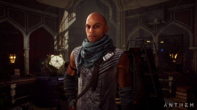 Anthem's conversation system allows for two dialogue choices