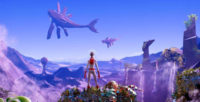 Stunning sci-fi platformer Planet Alpha lands today, launch trailer launched