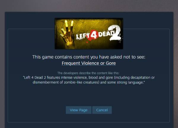 Valve is changing the way games with nudity, violence, and sexual content are presented on Steam