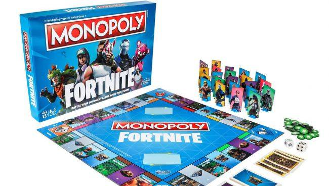 Fortnite is getting the Monopoly treatment