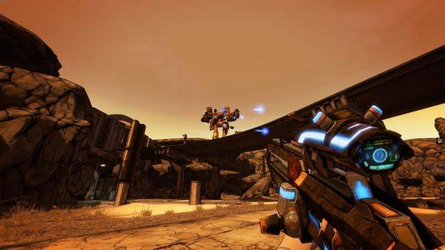 This upcoming mod turns Borderlands 2 into Superhot, and it looks amazing
