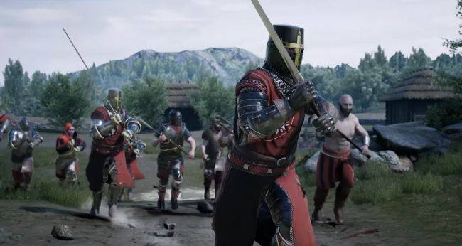 Multiplayer medieval melee Mordhau adds a bunch of new stuff