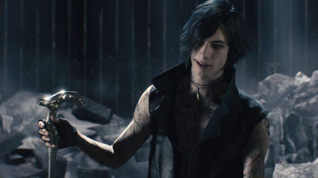 Devil May Cry 5's TGS trailer reveals third playable character, this 2006 boyband guy