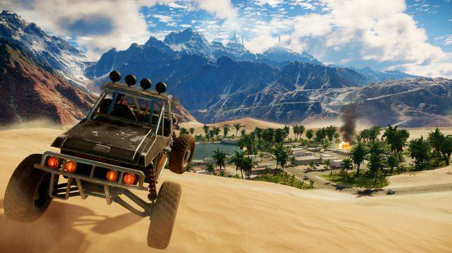 Here's 19 minutes of footage from Just Cause 4