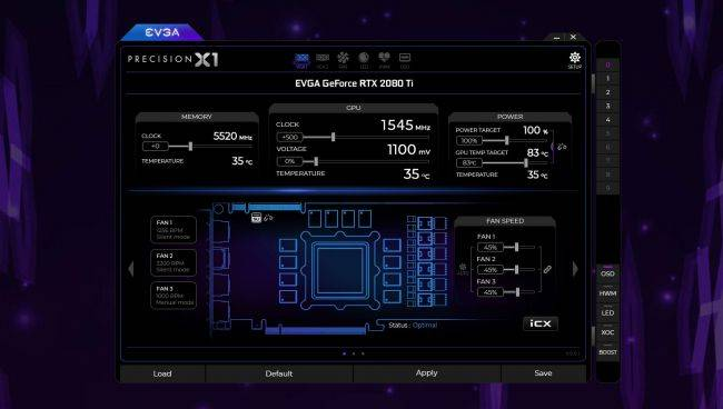 EVGA rolls out revamped Precision X1 overclocking software for GeForce RTX cards