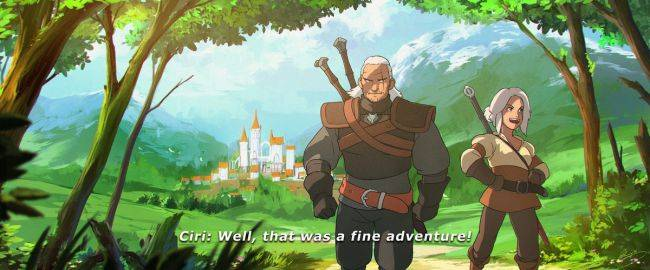 Check out Geralt looking majestic in this Witcher anime concept art