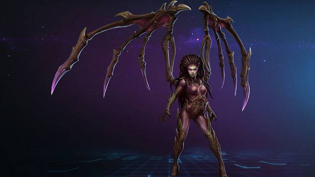 Kerrigan gets a makeover in Heroes of the Storm's latest update