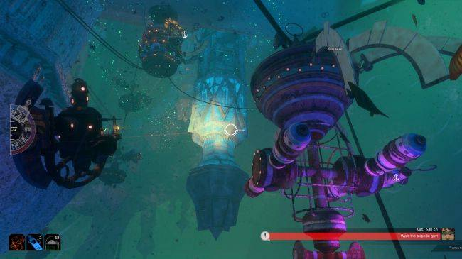 FTL-like submarine game Diluvion gets Resubmerged update