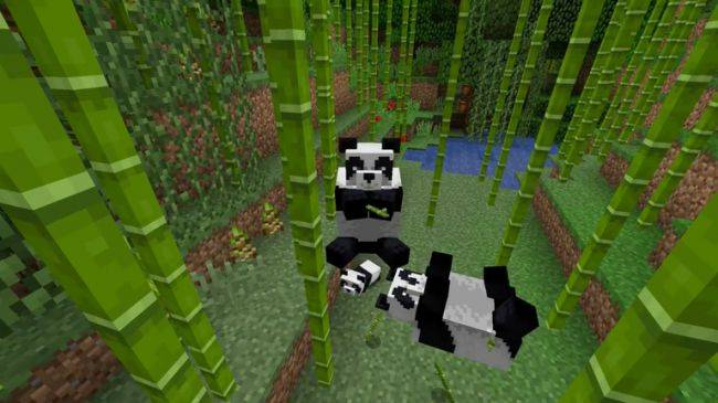 Minecraft is getting pandas, crossbows, and more