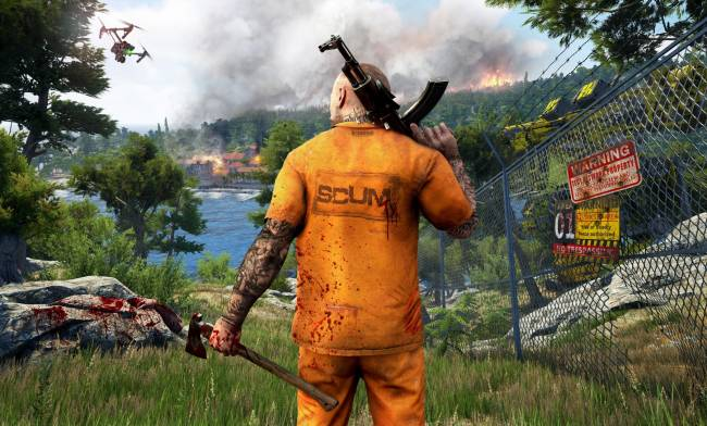 Prison survival game 'Scum' no longer includes neo-Nazi tattoos