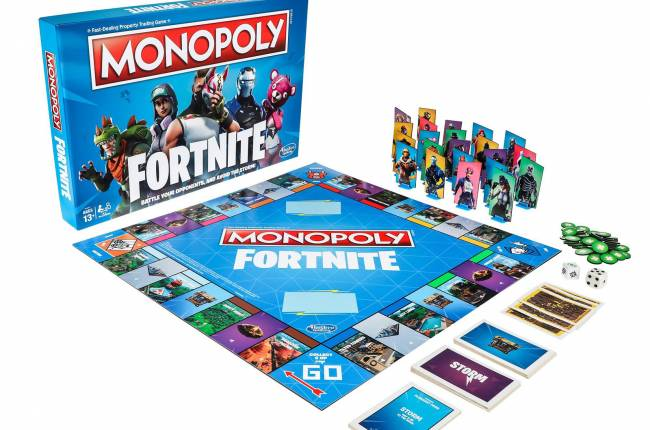 In 'Fortnite' Monopoly, Tilted Towers is the new Boardwalk