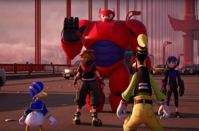'Kingdom Hearts 3' trailer shows off 'Big Hero 6' world