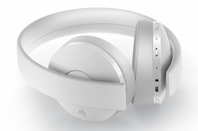 There's an all-white Sony headset for your limited-edition PS4