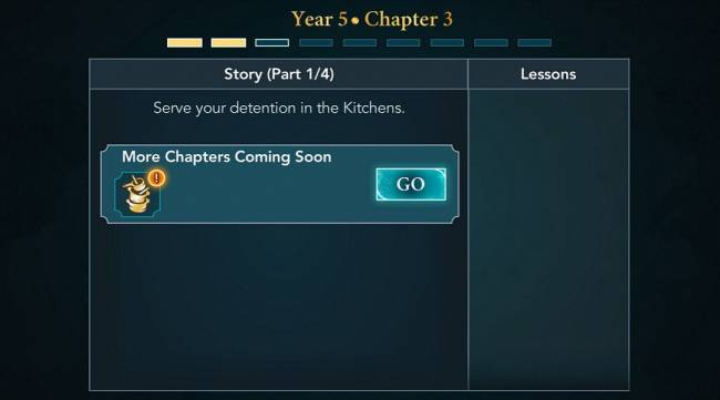 Harry Potter: Hogwarts Mystery – Where is Year 5 Chapter 3?