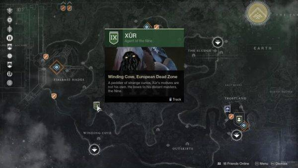 Destiny 2: Xur location and inventory, September 20-23