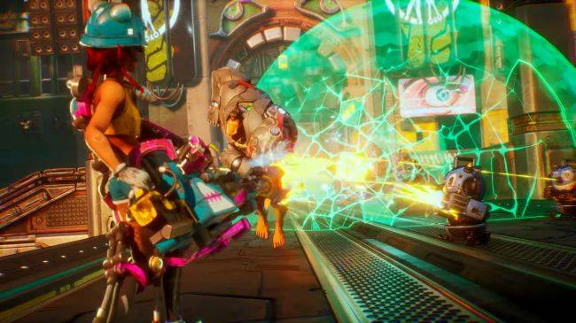 Bleeding Edge video shows chaotic combat, colourful heroes, and hoverboards