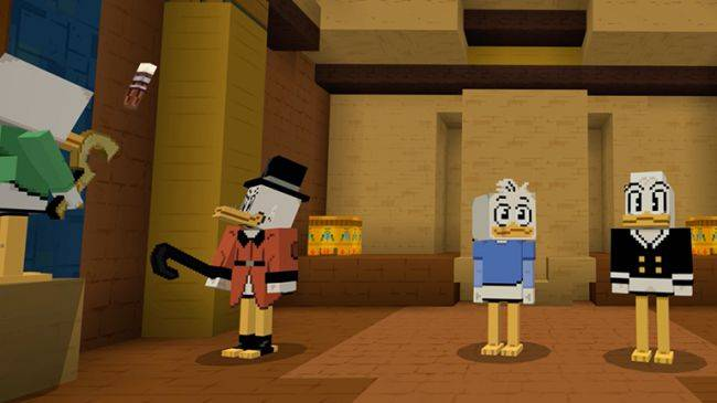Minecraft's Ducktales crossover would make Scrooge McDuck proud