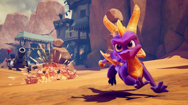 Spyro: Reignited Trilogy is now available on Steam