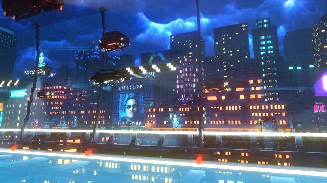 Cloudpunk trailer teases a taxi driver's first night in the big city