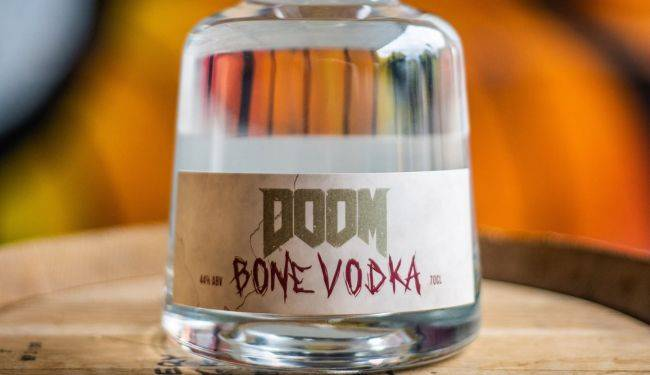 Doom is getting an officially licensed 'bone vodka'