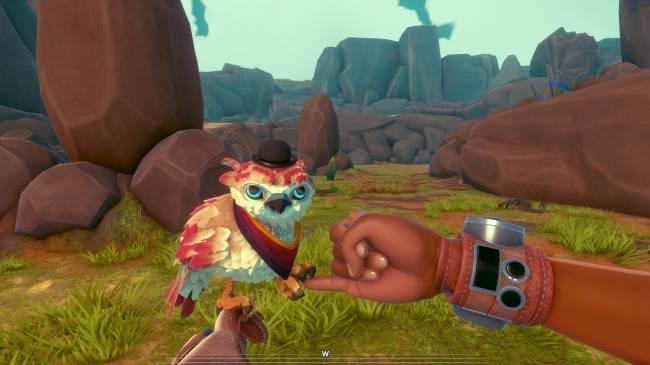 Falcon Age, a game where you battle robots with a bird BFF, is out now