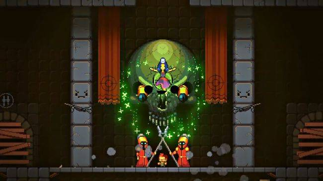 Enter the Gungeon is getting a 'dungeon climber' spin-off