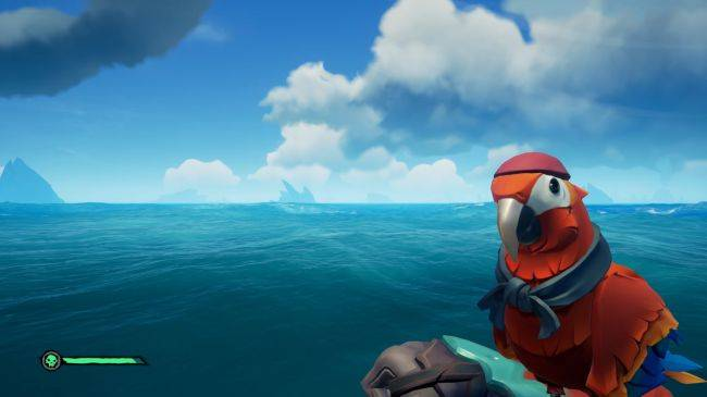 You can make your Sea of Thieves pets throw up