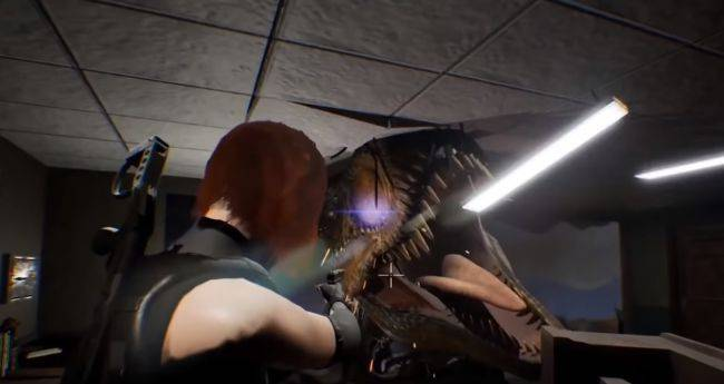 The Dino Crisis fan remake's new trailer shows off its scaly stars