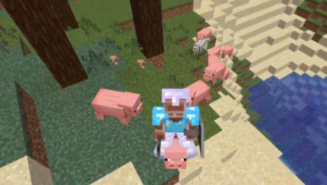 This player beat Minecraft without ever taking a single step