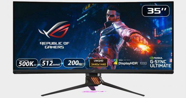 Asus ROG's big, bright, and fast PG35VQ gaming monitor arrives in the US for $2,499