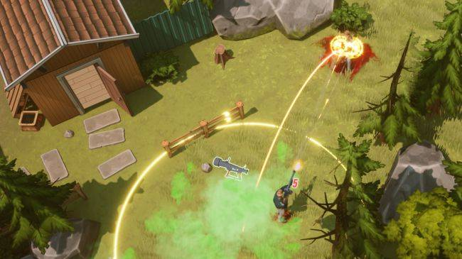 In this battle royale you can scorch players with orbital death rays after you die
