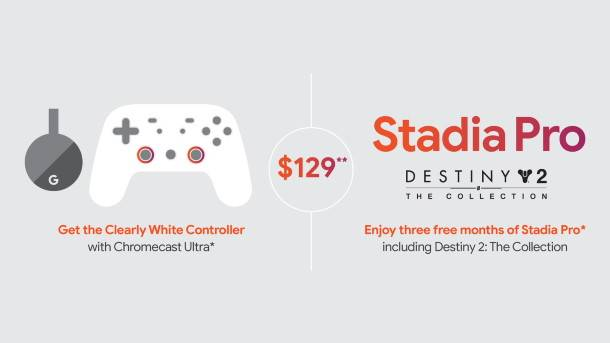 Stadia Founders Edition is almost sold out, so here's the Stadia Premiere Edition